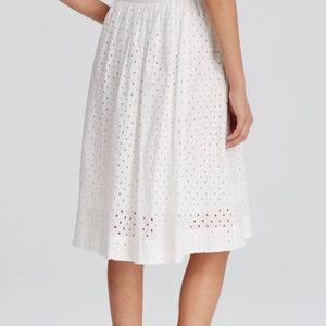 Kate Spade  In Full Bloom Eyelet Skirt